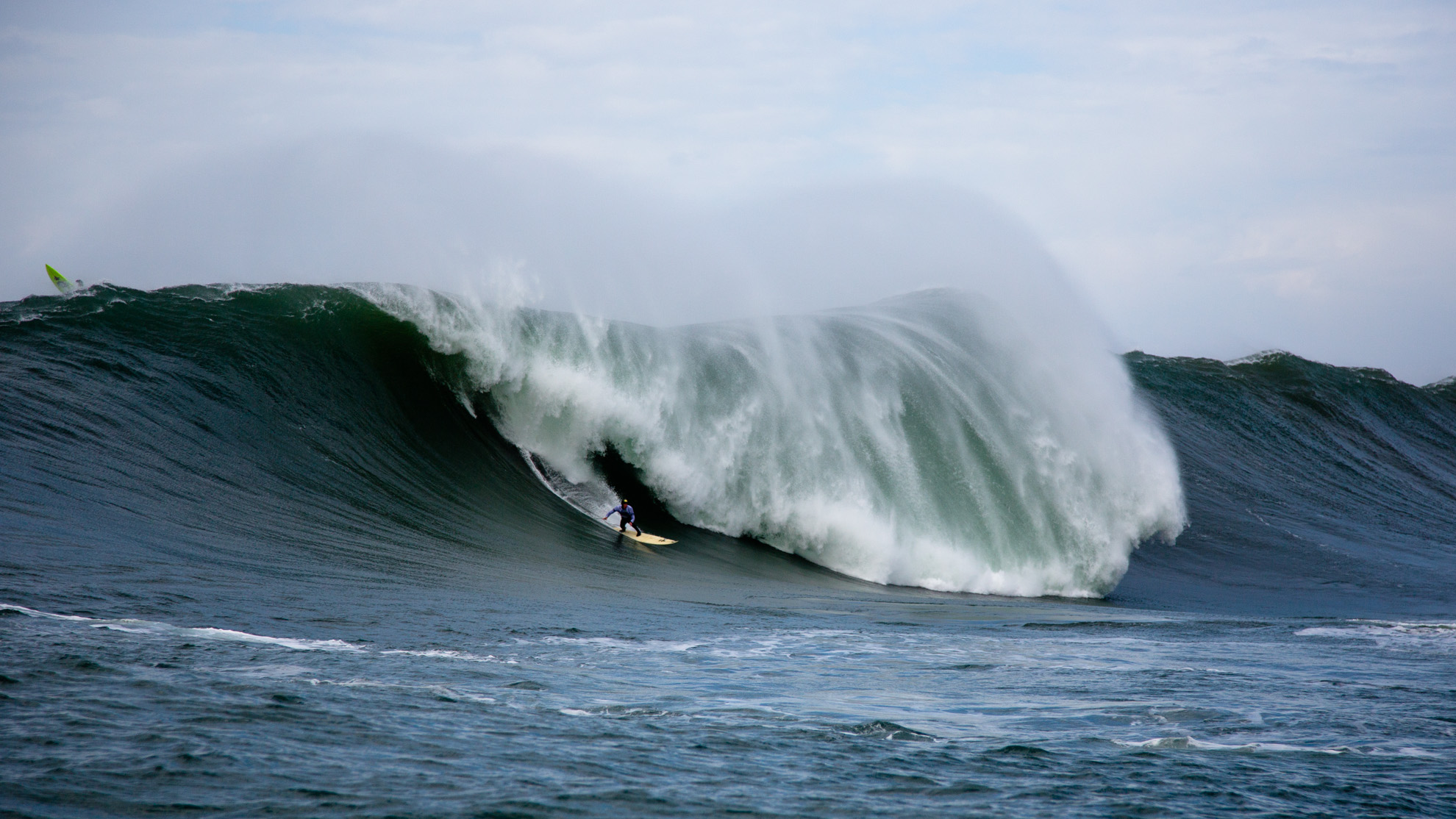 Surfing Mavericks